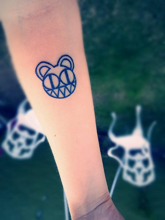 Radiohead #monster #tattoo