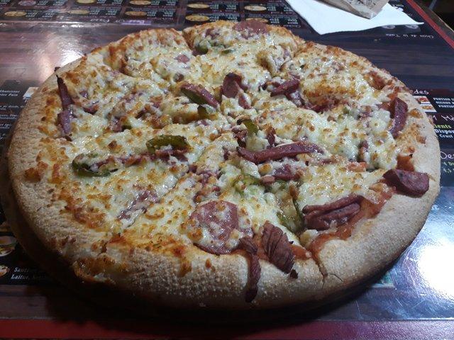 pizza cow boy