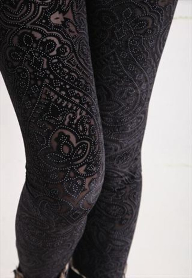 goth leggings
