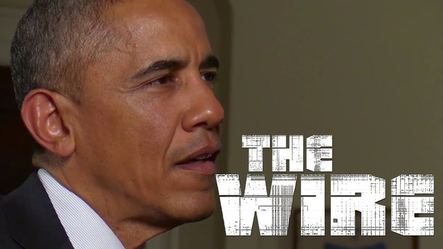 Obama Talks The Wire With David Simon