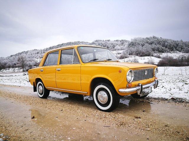 Auto vaz #lada #2101 #vaz #auto #cars #golden #sovietcar