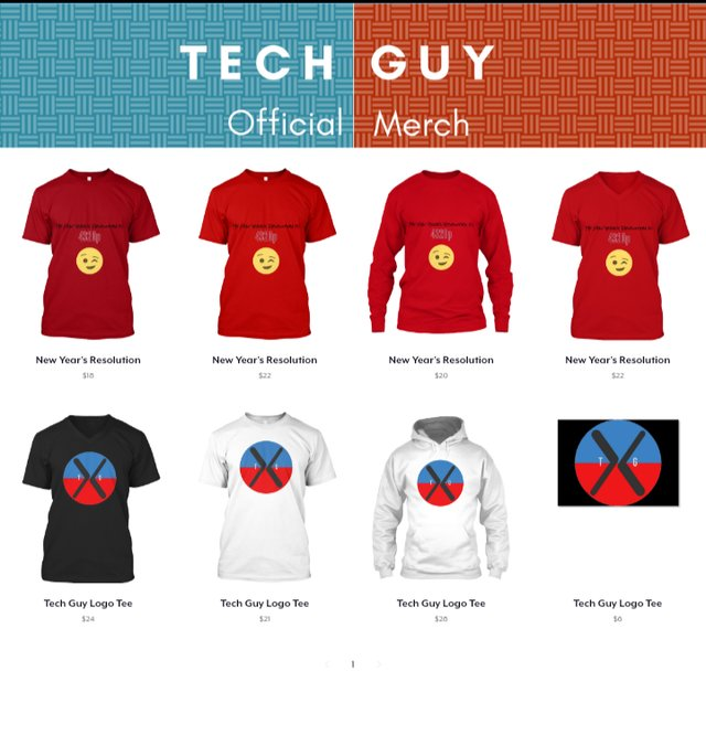 Tech Guy Merch