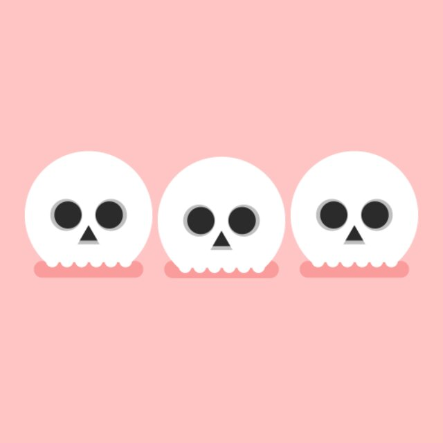 Skulls animation by James Curran
