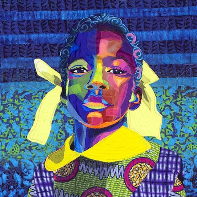 love this one ... The Princess by Bisa Butler