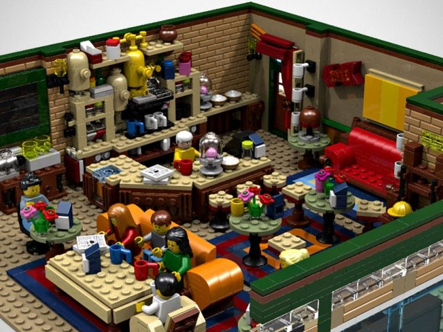 Wanna have this #FRIENDS #Lego